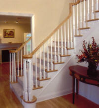 Wood Stair Railing Styles